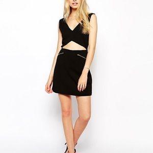 Back mini dress size 2